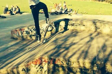 Oxford Road Skatepark, 2014 - Photographer Sue Hunt