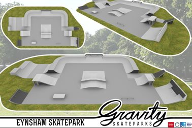 Oxford Road Skatepark vision, 2016 - Photographer Gravity