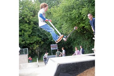 Eynsham Skatepark official opening, 2016 - Photographer Chris Plaistow