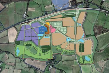 Gladman's vision for the site - Photographer Gladman Developments