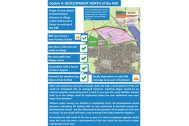 Option 4: Development North of the A40