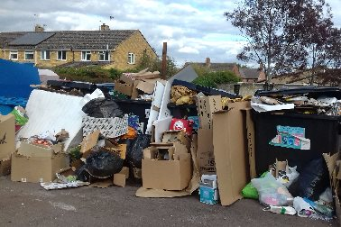 Fly-tipped Waste October 2018 *2