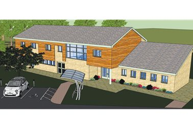 new centre - impression only - Photographer Oxfordshire County Council